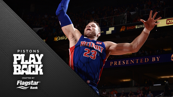 Pistons Playback crafted by Flagstar: Pistons at Suns