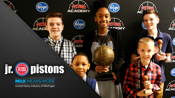 Jr. Pistons, presented by Milk Means More: The 7th Annual Pistons Academy Awards, presented by Kroger