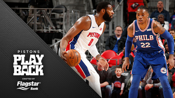 Pistons Playback crafted by Flagstar: Pistons vs Sixers
