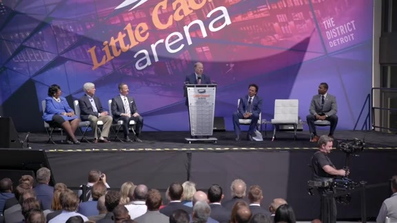 TG 360:  Tom Gores Lauds Opening of Little Caesars Arena At Historic Ribbon-Cutting