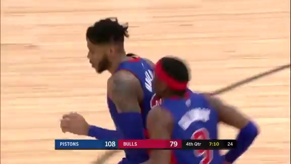 Pistons Playback crafted by Flagstar: Pistons at Bulls