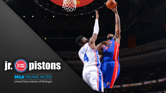 Jr. Pistons, presented by Milk Means More: The Jump Hook