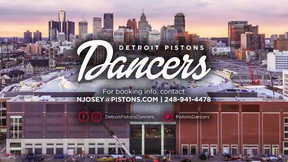 Book the Detroit Pistons Dancers