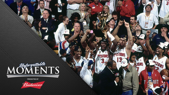 Unforgettable Moments, presented by Budweiser: 2004 Championship
