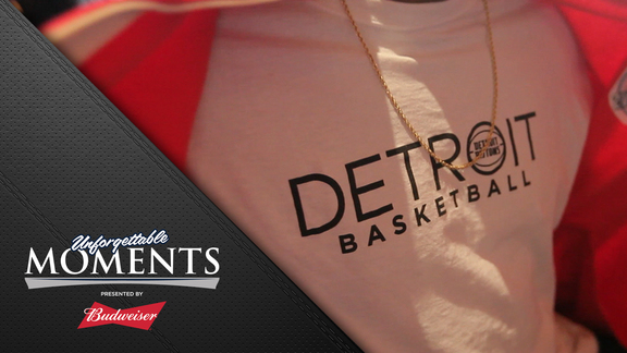 Unforgettable Moments, presented by Budweiser: Deee-troit Basketball