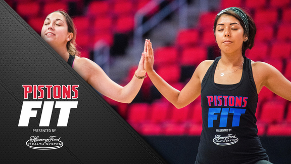 Pistons Fit: Yoga at Little Caesars Arena