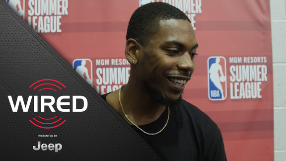 Wired, presented by Jeep: GRIII and Jose Calderon