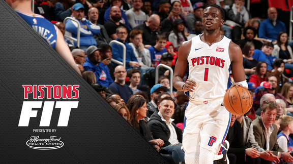 Pistons Fit: Players' Favorite Snacks