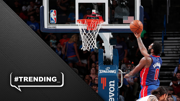 #Trending: Andre Drummond's Big Night