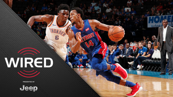 Wired, presented by Jeep: Pistons VS OKC Preseason Game Win
