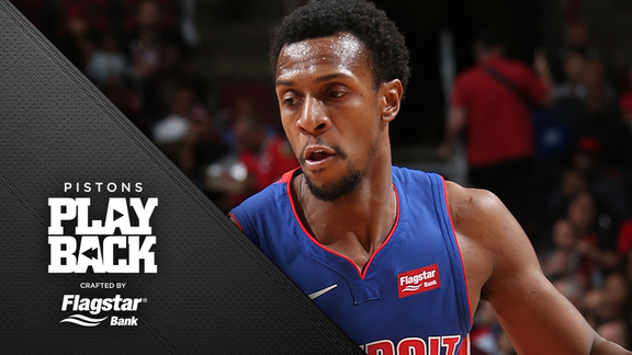 Pistons Playback, crafted by Flagstar: Pistons at Bulls