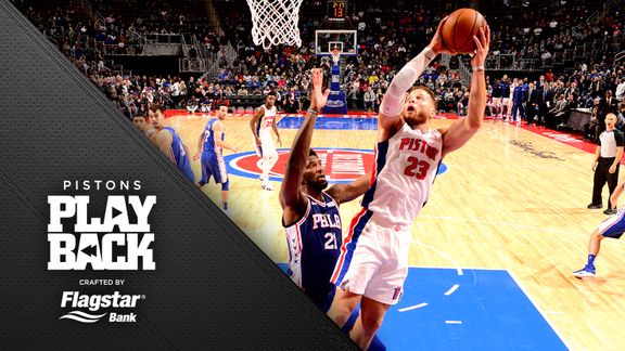 Pistons Playback, crafted by Flagstar: Pistons vs Sixers