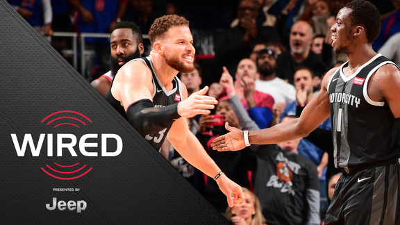 Wired, presented by Jeep: Pistons vs Rockets