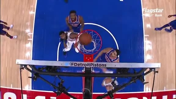 Pistons Playback, crafted by Flagstar: Pistons vs. Knicks
