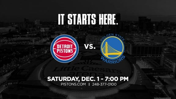 Marquee Matchup: Pistons vs. Warriors