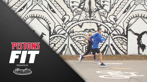 Pistons Fit, presented by Henry Ford Health System: Pistons Fit Running Routes #3