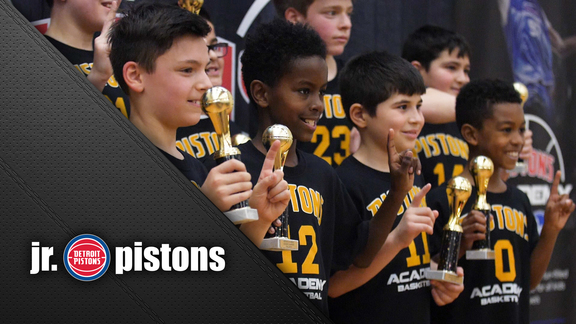 Jr. Pistons: League Championships