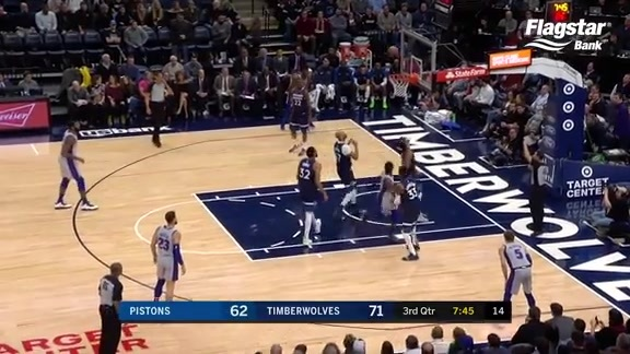 Pistons Playback, crafted by Flagstar: Pistons vs. Timberwolves