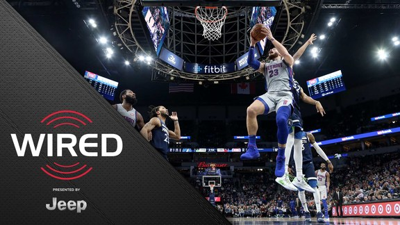 Wired, presented by Jeep: Pistons vs. Timberwolves