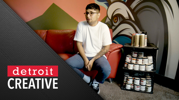 Detroit Creative: Art & Basketball with Freddy Diaz