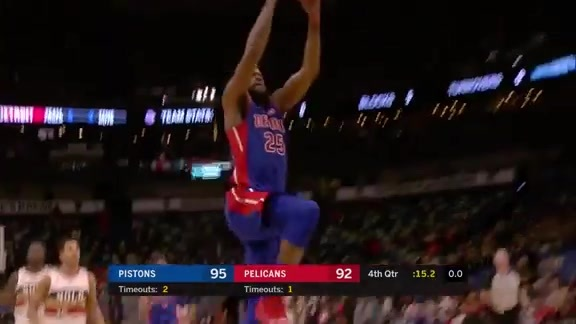 Pistons Playback, crafted by Flagstar: Pistons at Pelicans