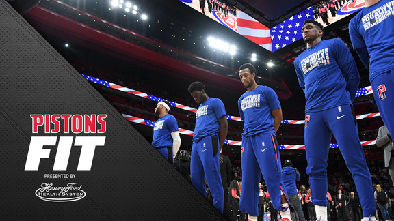Pistons Fit, presented by Henry Ford Health System: The Importance of Sleep