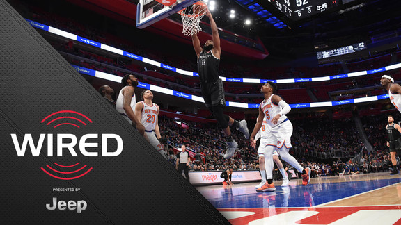 Wired, presented by Jeep: Pistons vs. Knicks