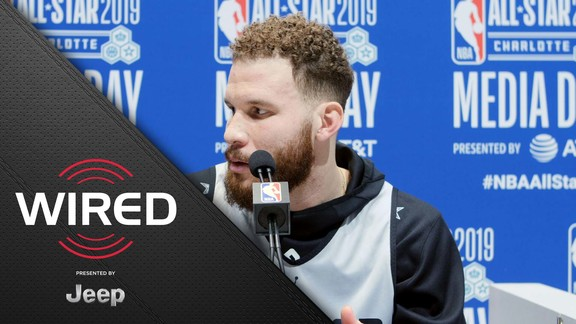 Wired, presented by Jeep: Blake Griffin at All-Star Practice