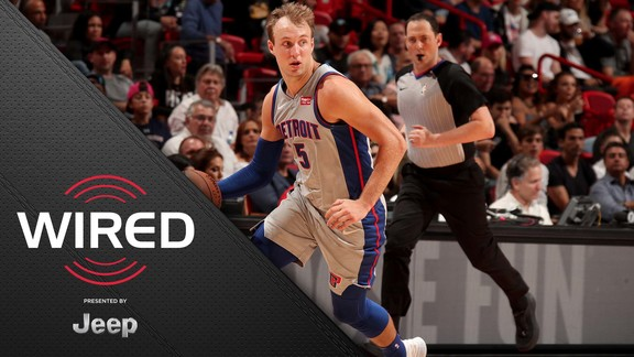 Wired, presented by Jeep: Pistons at Heat