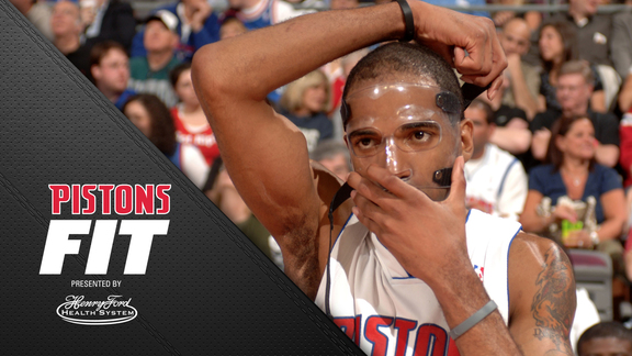 Pistons Fit, presented by Henry Ford Health System: The Face Mask