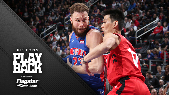 Pistons Playback, crafted by Flagstar: Pistons vs Raptors