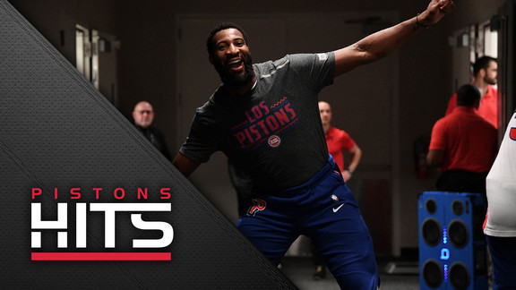 Pistons Hits: Andre Drummond Named Eastern Conference Player of the Week