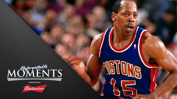 Unforgettable Moments, presented by Budweiser: Vinnie Johnson 007