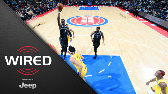 Wired, presented by Jeep: Pistons vs Lakers