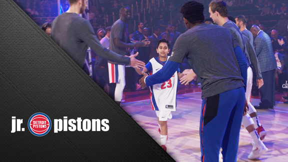 Jr Pistons: Kids Day, presented Blue Cross Blue Shield of Michigan