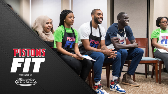 Pistons Fit, presented by Henry Ford Health System:  Ready, Set, Cook Recap