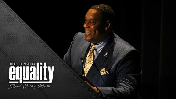 Black History Month: 14th Annual Detroit Pistons Foundation Scholarship Event with Rick Mahorn