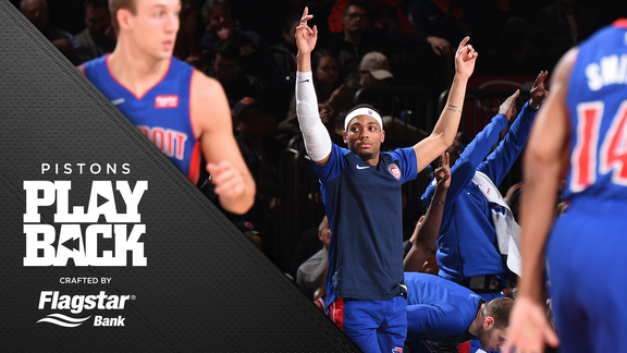 Pistons Playback, crafted by Flagstar: Pistons at Knicks