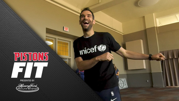 Pistons Fit, presented by Henry Ford Health System: UNICEF Power Kids Clinic