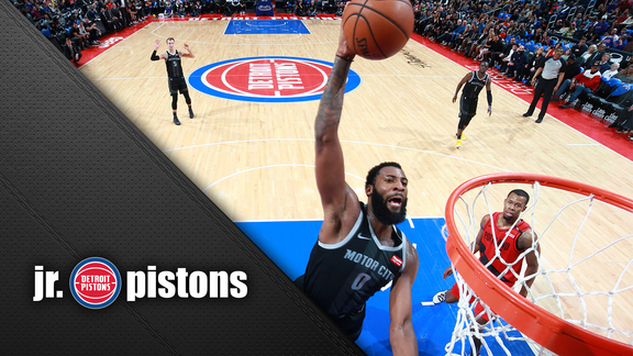 Jr. Pistons Skill Sessions: Learn How to Rim Run