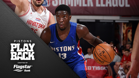 Pistons Playback, crafted by Flagstar: Pistons vs Croatia