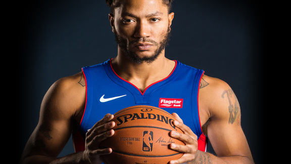 Pistons Hits: Derrick Rose