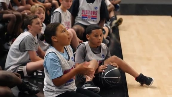 Jr. Pistons: Summer Camp at Little Caesars Arena