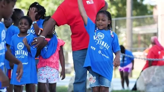 Basketball for All: Pistons Neighbors Program