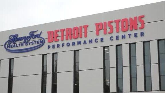 Henry Ford Detroit Pistons Performance Center Grand Opening