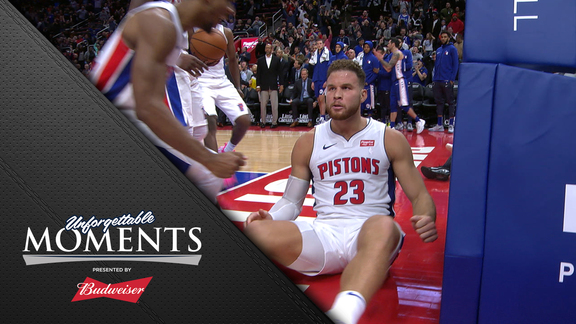 Unforgettable Moments, presented by Budweiser: Blake Scores 50