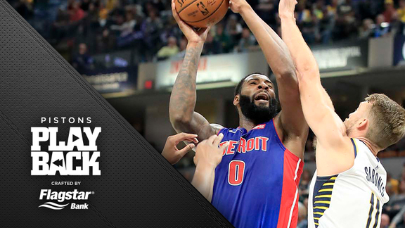 Pistons Playback, crafted by Flagstar: Pistons at Pacers