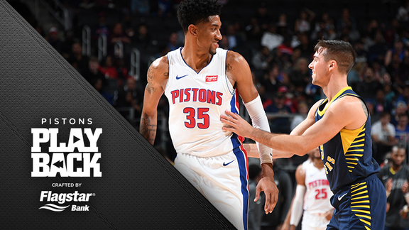 Pistons Playback, crafted by Flagstar: Pistons vs Pacers