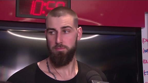 Raptors Post-Game: Jonas Valanciunas - January 11, 2018