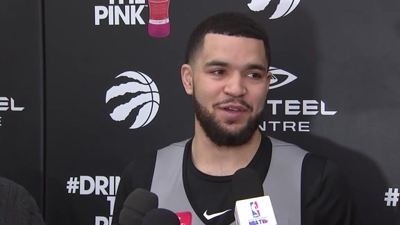 Raptors Practice: Fred VanVleet - January 12, 2018